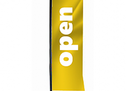 Флаг тип rectangle/block Open