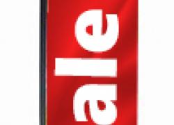Флаг Sale тип block