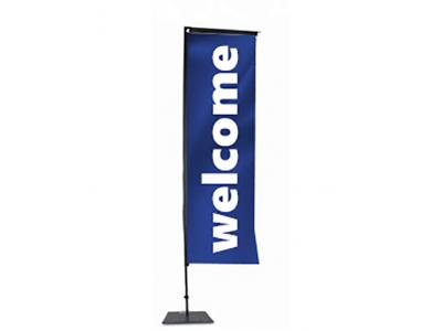 Банер флаг Welcome