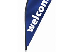 Флаг крило Welcome