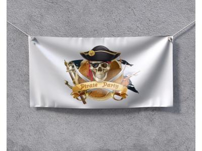 Пиратско Знаме готов дизайн