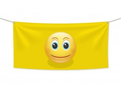Знаме Emoji Усмивка