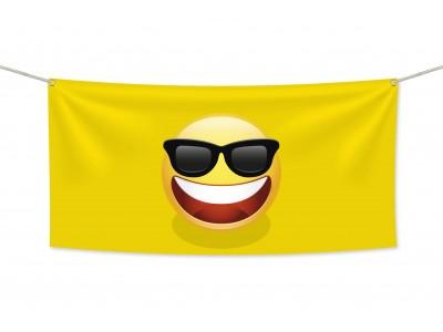 Знаме Emoji Boss