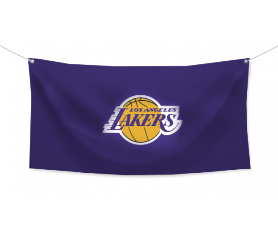 NBA Знаме Los Angeles Lakers