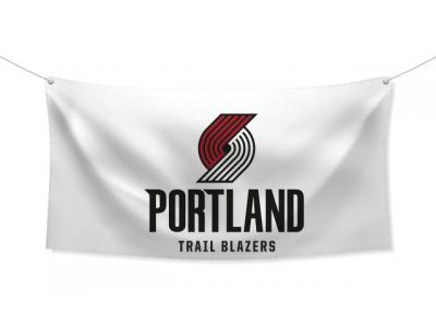 NBA Знаме Portland Trail Blazer