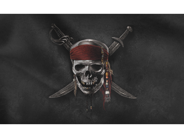 Класическо пиратско знаме