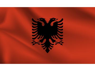 Знаме на Албания