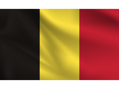 Знаме Белгия