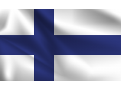 Знаме Финландия