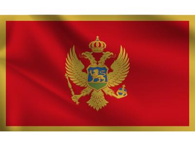 Знаме Черна Гора