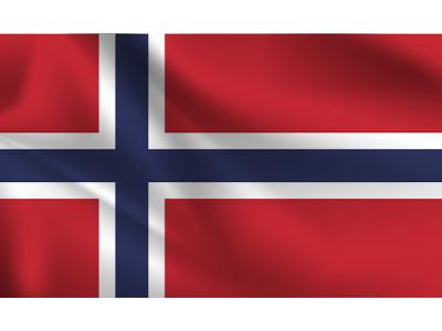 Знаме Норвегия