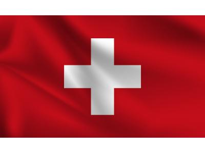 Знаме Швейцария